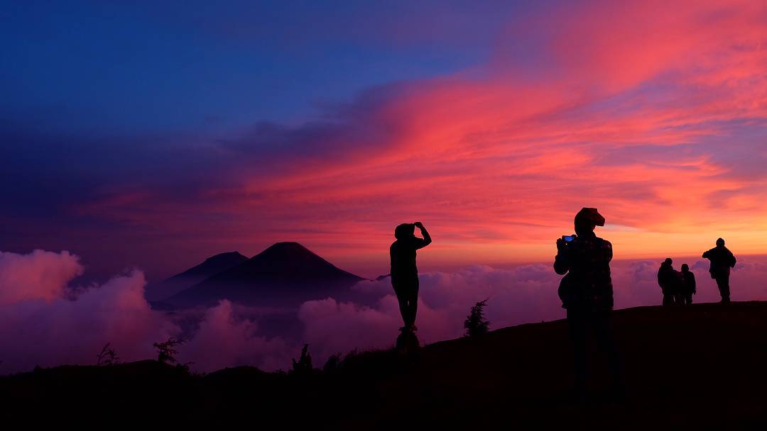 Golden Sunrise Dieng By @yudhakusumawardani15