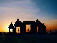 Sunset Ratu Boko 200x150