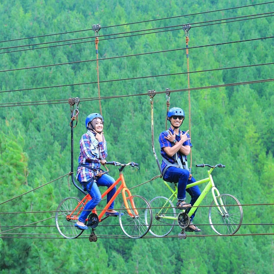 Zip Bike Di The Lodge Maribaya