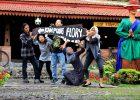Serunya Wisata Outbound Jogja di Bali Ndeso Kampung Flory