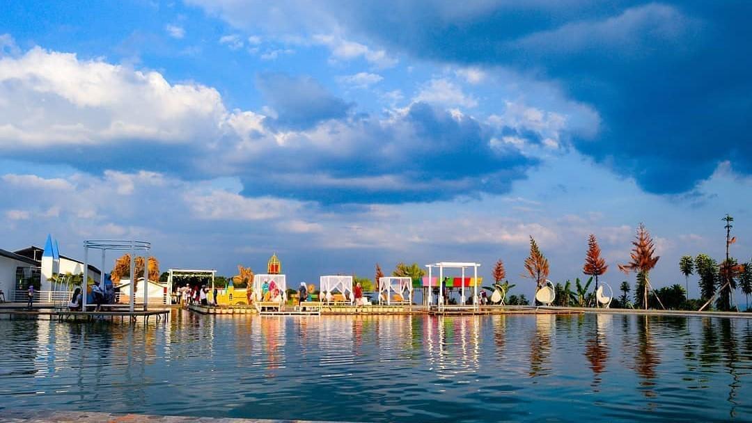 Tempat Wisata Taman Bunga Celosia Gedong songo