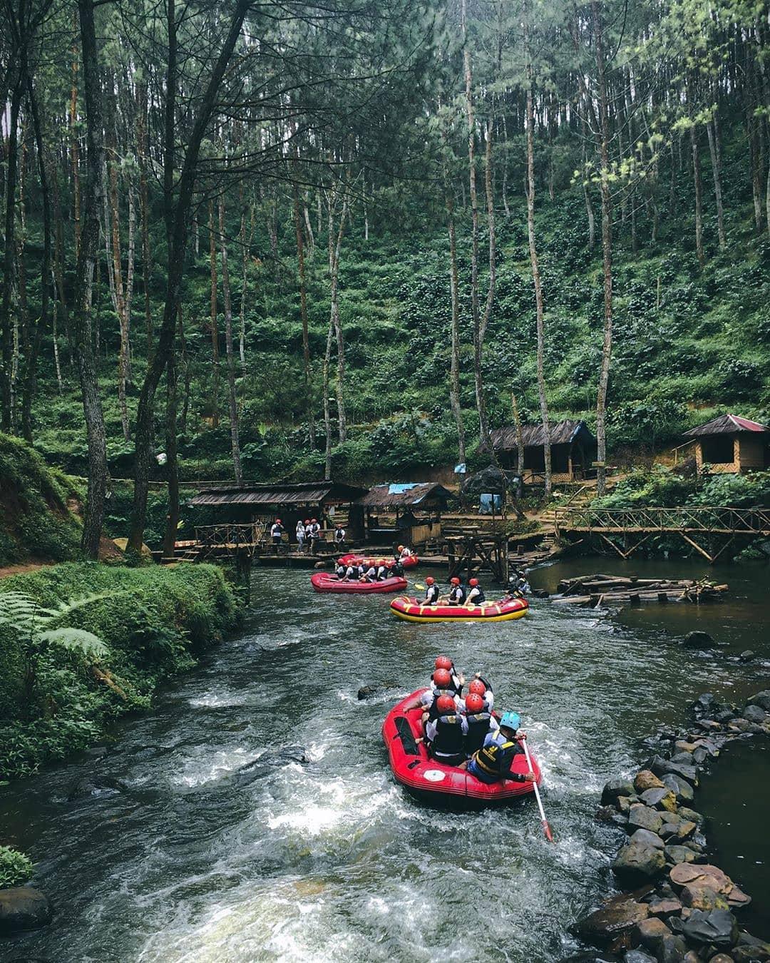 Wisata Arung Jeram Pangalengan